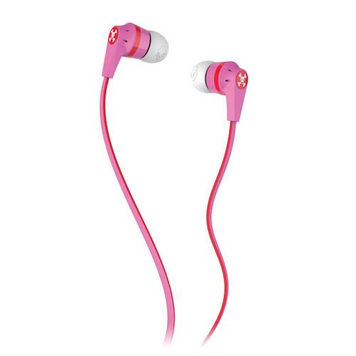 Skullcandy INK'D 2.0 Earbud Headphones (Paul Frank Pink)