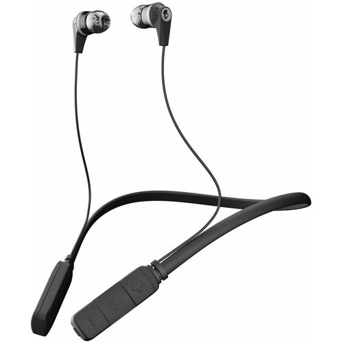 Skullcandy Ink'd Wireless Bluetooth In-Ear Headphones (Black/Gray/Gray Vende)