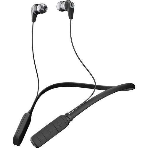 Skullcandy Ink'd Wireless Bluetooth In-Ear Headphones (Black/Gray)