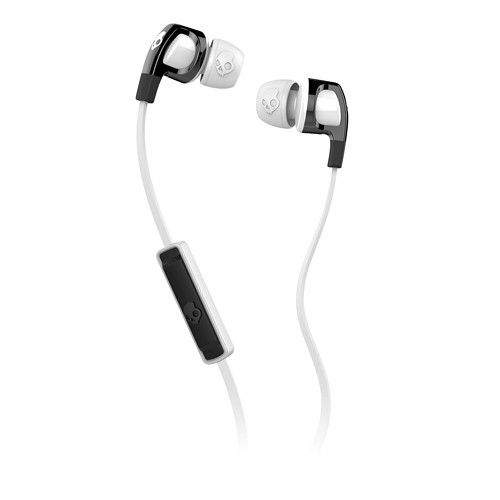 Skullcandy Smokin' Buds 2 Earbud Headphones with Mic (Black/White)