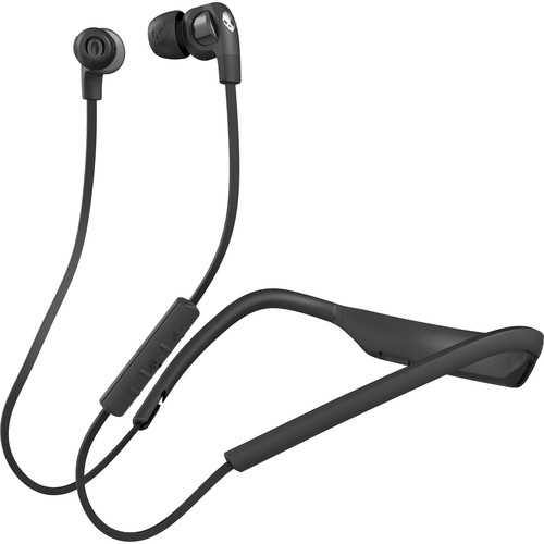 Skullcandy Smokin' Buds 2 Wireless Bluetooth In-Ear Headphones (Black/Chrome)