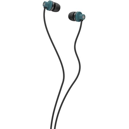 Skullcandy Titan Mic'd Earbud Headphones (Teal, Black and Silver)
