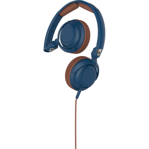 Skullcandy Lowrider On-Ear Headphone (Navy, Brown, and Copper)