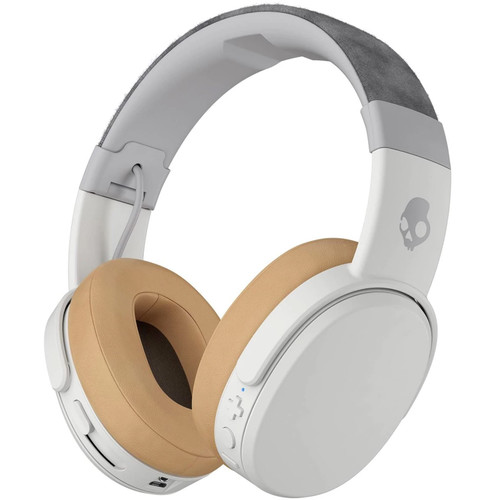 Skullcandy Crusher Wireless Over-Ear Headphones (Gray/Tan)