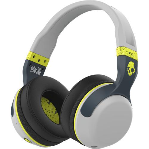 Skullcandy Hesh 2 Wireless Bluetooth Headphones (Gray/Hot Lime)
