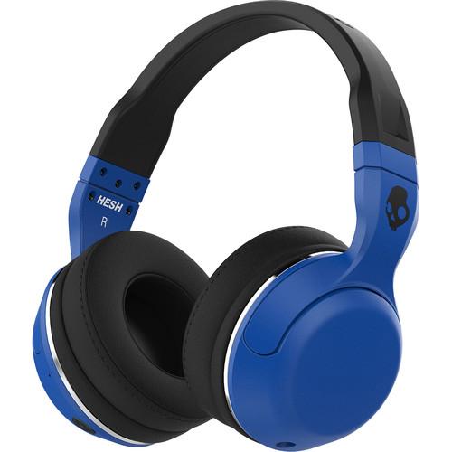 Skullcandy Hesh 2 Wireless Bluetooth Over-Ear Headphones (Blue/Black)