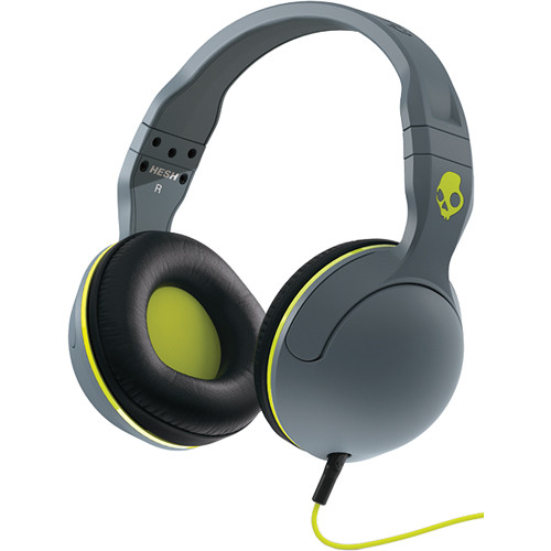 Skullcandy HESH 2.0 Headphones (Gray, Black, and Lime)