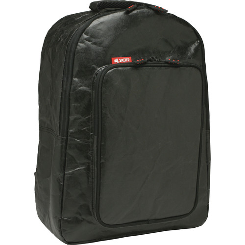 Skutr backpack + tablet Bag (Black, Tyvek)