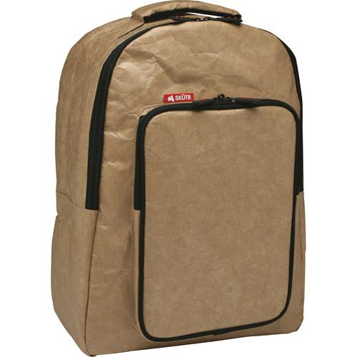 Skutr backpack + tablet Bag (Brown, Tyvek)