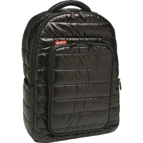 Skutr backpack + tablet Bag (Black, Puffy)