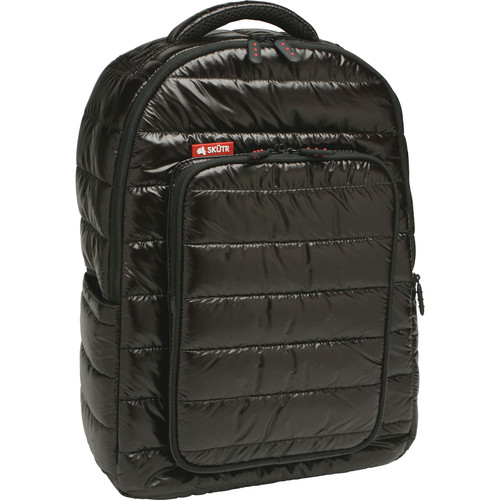 Skutr backpack + tablet Bag (Black, Puffy)