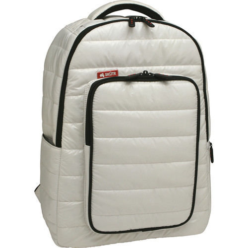 Skutr backpack + tablet Bag (White, Puffy)
