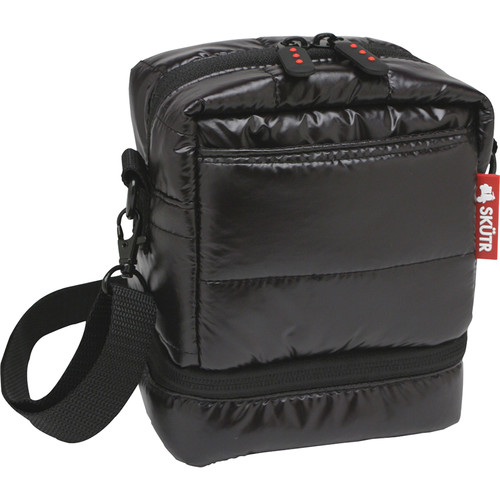 Skutr Camera Bag for Fujifilm Instax Mini 8 or Polaroid 300 (Black)