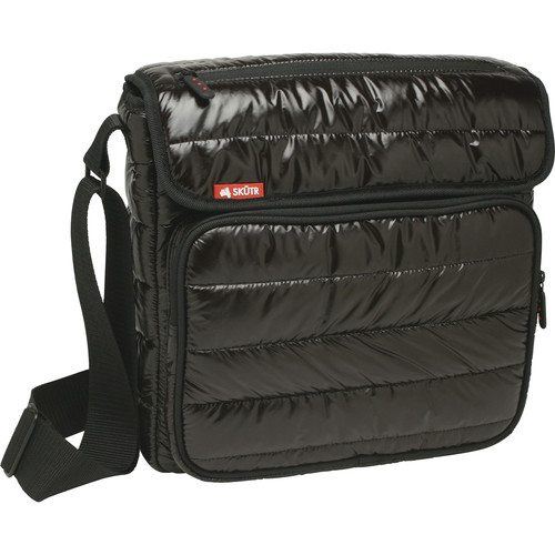 Skutr SKUTR messenger + tablet Bag (Black, Puffy Jacket Nylon)
