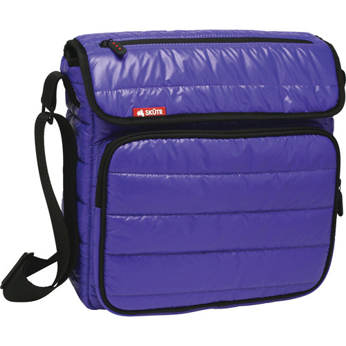 Skutr SKUTR messenger + tablet Bag (Blue, Puffy Jacket Nylon)