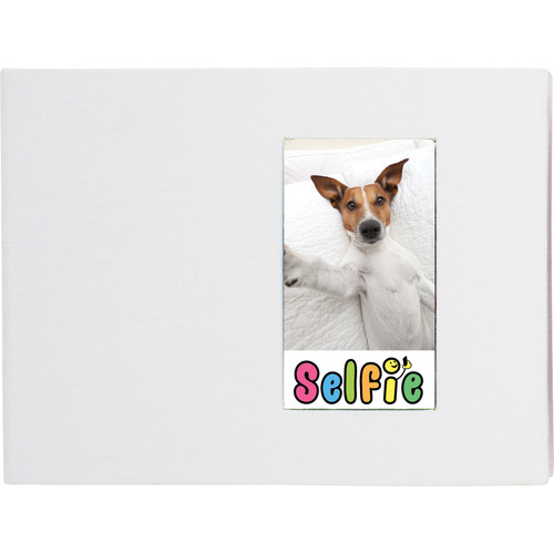 Skutr Selfie Photo Album for Instax Photos - Large (White)