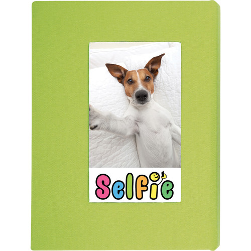 Skutr Selfie Photo Album for Instax Photos - Small (Lime Green)