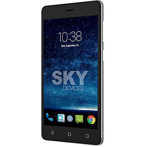 SKY Devices Fuego 5.0+ 4GB Smartphone (Unlocked, Dark Gray)