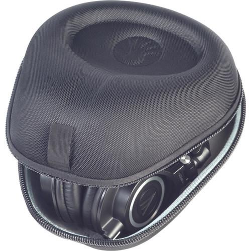 SLAPPA HardBody Pro Full-Sized Headphone Case (Diamond-Cut Nylon Laminate, Black)