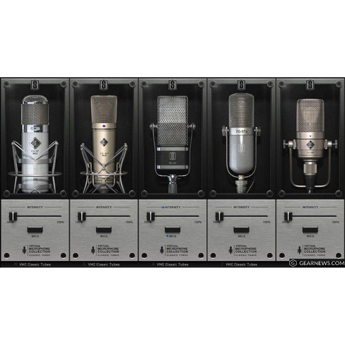 Slate Digital VMS Classic Tubes 3 - 5 Mic Expansion Pack for VMS Software (Download)