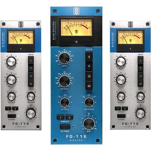 Slate Digital FG-116 Blue Series FET Compressors - Pro Audio Software for Analog-Style Compression (Download)