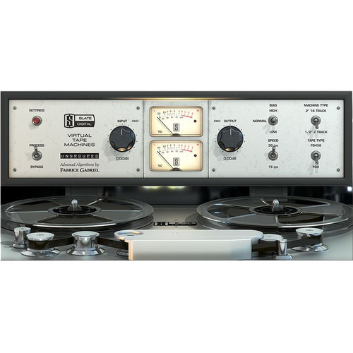 Slate Digital Virtual Tape Machines - Software for Pro Audio Applications (Download)
