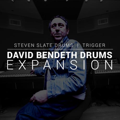 Slate Digital David Bendeth Expansion Pack - Samples for Steven Slate Drums Virtual Instrument (Download)