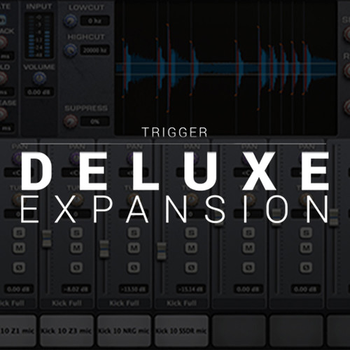 Slate Digital Deluxe Expansion Pack - Samples for Slate Trigger Drum Replacer (Download)