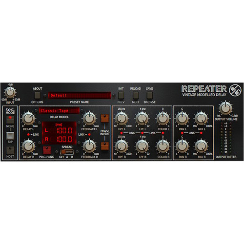 Slate Digital Repeater Delay - Software for Pro Audio Applications (Download)