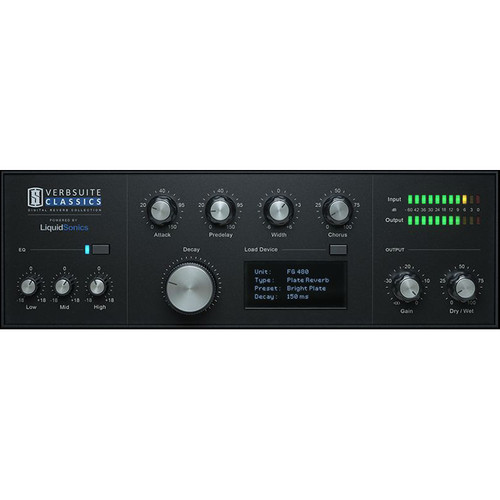 Slate Digital VerbSuite Classics - Reverb Software for Pro Audio Applications (Download)