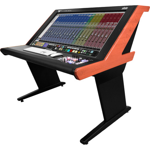 Slate Digital RAVEN MTX Multi-Touch Audio Production System with Slate Control (Black Finish with Woodgrain Side Panels)