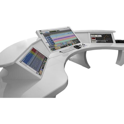 Slate Digital RAVEN Z3 Triple Touchscreen Audio Production System (16 RU, White Satin)