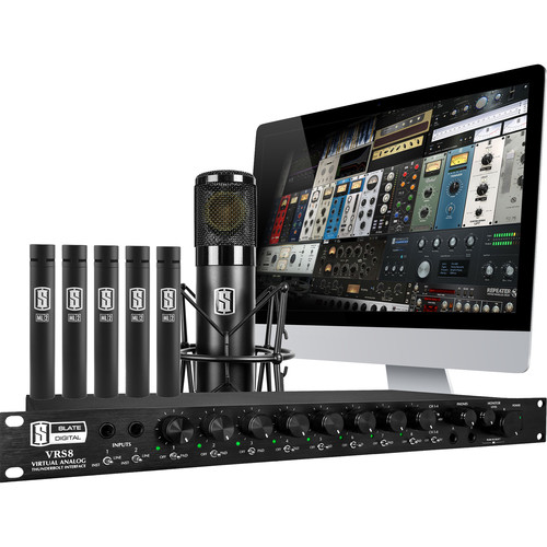 Slate Digital Virtual Recording Studio with 1 Ml-1 Microphone and 5 Ml-2 Microphones