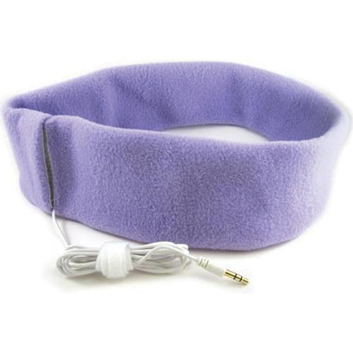 SleepPhones SleepPhones Headphones with In-Line Volume Control (Extra Large, Quiet Lavender)