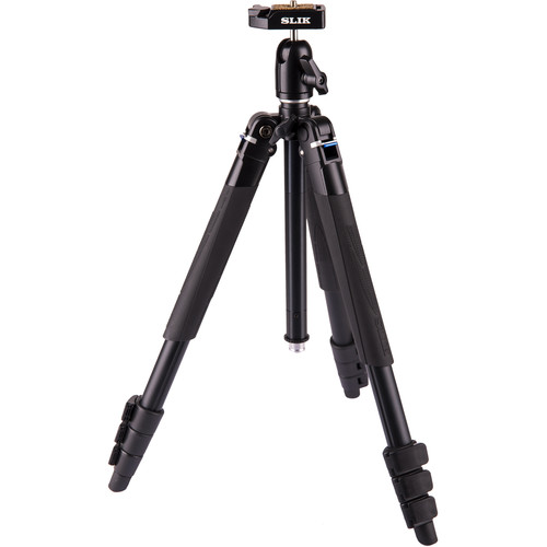 Slik Lite AL-420M Tripod with LED Center Column Flashlight