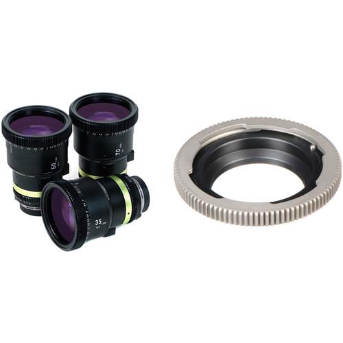 SLR Magic 1.33x Anamorphot-CINE Lens Set and EF-Mount Adapter Kit