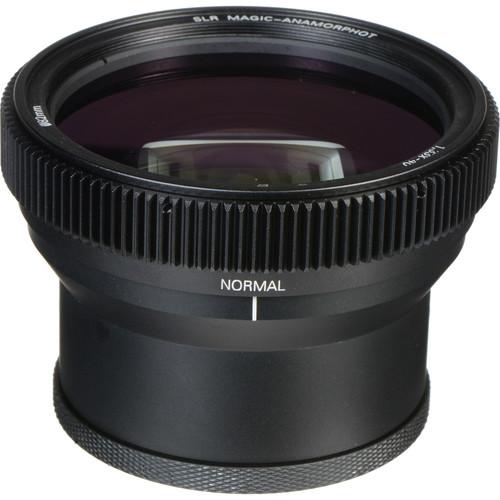 SLR Magic 25mm T0.95 HyperPrime Cine III Lens and Anamorphot-40 1.33x Anamorphic Adapter Kit (MFT)