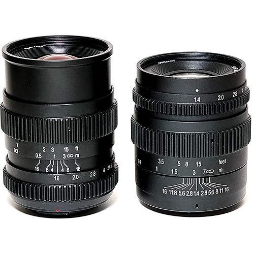 SLR Magic 17mm T1.6 and 35mm T1.4 Lenses with MFT Mount