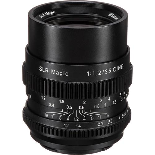 SLR Magic Cine 35mm f/1.2 FE Lens and Anamorphot-40 1.33x Anamorphic Adapter Kit (E-Mount)