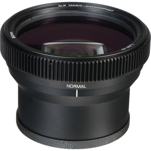 SLR Magic Cine 50mm f/1.1 and Anamorphot-40 1.33x Anamorphic Adapter Kit for Sony E-Mount