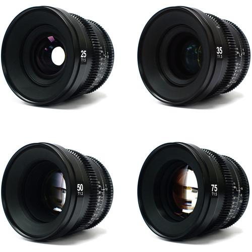 SLR Magic MicroPrime Cine 4-Lens Kit (Fuji X Mount)