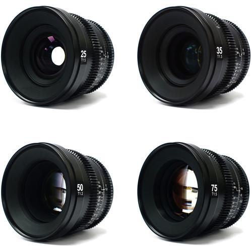 SLR Magic MicroPrime Cine Lens Kit (E-Mount)