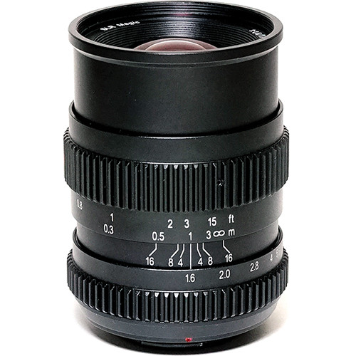 SLR Magic 17mm T1.6 Lens with MFT Mount for BMPCC and 52mm Variable ND Kit