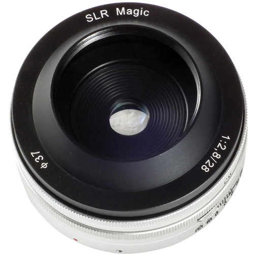 SLR Magic 28mm f/2.8 Lens for Sony APS-C E-Mount