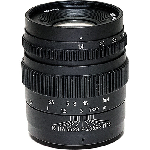 SLR Magic Cine 35mm T1.4 Mark II Lens with E Mount and 52mm Variable ND Kit