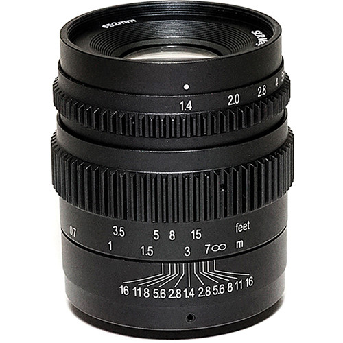 SLR Magic Cine 35mm T1.4 Mark II Lens with Micro Four Thirds Mount