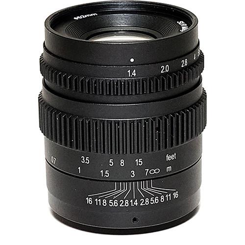 SLR Magic Cine 35mm T1.4 Mark II Lens with Fuji X Mount