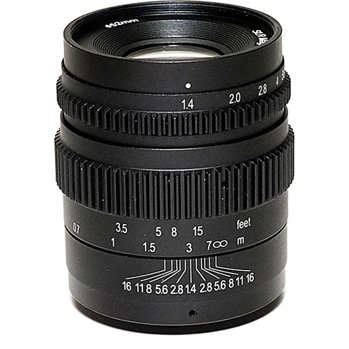 SLR Magic 35mm T1.4 Mark II Lens with Fuji X Mount and 52mm Variable ND Kit