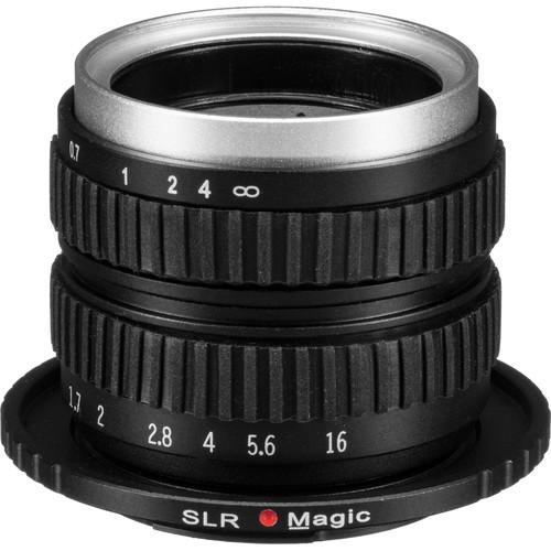 SLR Magic 35mm f/1.7 Lens for Micro Four Thirds