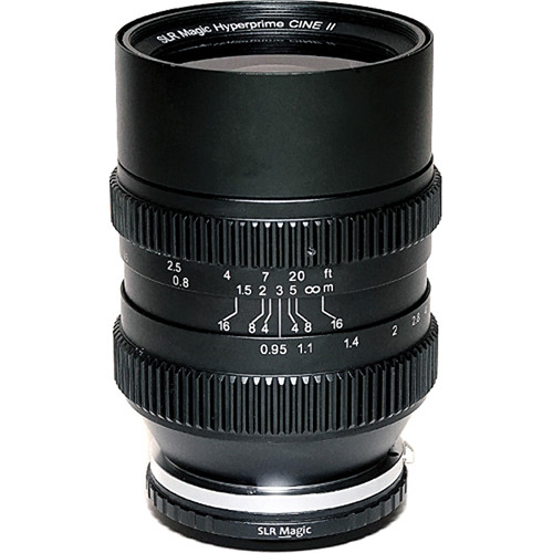 SLR Magic Cine 35mm T0.95 Mark II Lens with Fuji X Mount